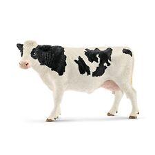 Schleich 13797 vache noir et blanc 13 cm série animaux de la ferme