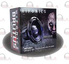 "HIFONICS BRUTUS BRX12D4 12"" 4 OHM DVC 900W CAR AUDIO SUBWOOFER 12IN SUB WOOFER"
