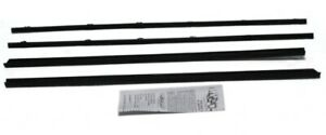 Window Sweeps for Chrysler Dodge Plymouth B-Body 1964-1965 Coupe Authentic 4pcs