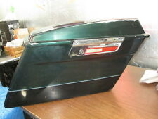 Harley Davidson OEM RH Right Hard Green & Black Saddlebag Assy FL Models