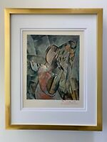 PABLO PICASSO CIRCA 1948 BEAUTIFUL SIGNED PRINT MATTED 11 X 14 + LIST  $995