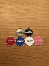 6 x The Belfry Golf Magnetic Collection Ball Markers *Brand New*
