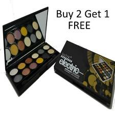 TECHNIC ELECTRIC Metalix 12 Eyeshadow Palette Natural Shades Smokey Eye Pallet