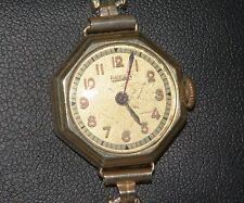 ADORABLE VINTAGE ANKRA MECHANICAL WOMEN'S WATCH 14K YELLOW GOLD CASE