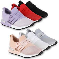 Damen Sportschuhe Glitzer Laufschuhe Fitness Sneaker Turnschuhe 826248 Schuhe