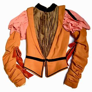 Handmade Medieval Renaissance Faire LARP Doublet Jacket Bodice Costume Cosplay
