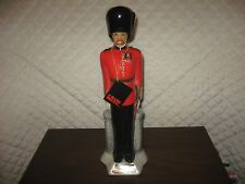 New listing Windsor Guardsman Ceramic Decanter from Canadian Whisky Hand Painted