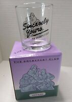 Loot Crate Exclusive The Breakfast Club - Sincerely Yours - Juice Glass. New