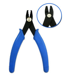 CRIMPING CRIMP CRIMPER PLIERS FOR JEWELLERY AND BEAD MAKING BEADING TIGERTAIL