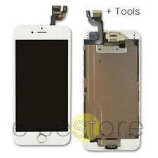 """For iPhone 6 4.7"""" LCD Screen Replacement Digitizer Camera White Gold Home Button"""