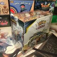 X1 Pokemon Booster Box Plastic Case Protective Protector for Sun&Moon Display
