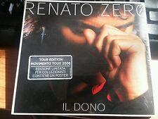 RENATO ZERO - IL DONO TOUR EDITION - RARO DIGIPAK CD SIGILLATO (SEALED) + POSTER