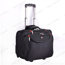 SWISSGEAR Travel Luggage Handbag Trolley Overnight Bag Wheels Rolling Bag Pack