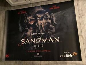 The Sandman Act II Act 2 Netflix 5FT SUBWAY POSTER 2021 Neil Gaman DC Vertigo