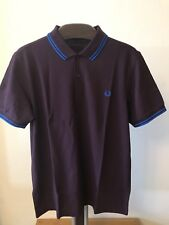 BNWT  Men's  Authentic Fred Perry  M3600 F25 Polo Shirt. Size Large Slim Fit.