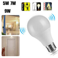 Practical E27 Radar Sensor PIR Motion LED Globe Bulb Light Lamp 5/7/9/12W