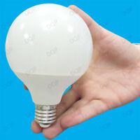 1x 15W (=100W) LED G95 E27 Decor 95mm Globe 3500K White Lamp ES, Light Bulb