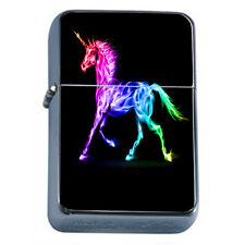 Unicorns D11 Windproof Dual Flame Torch Lighter Mythical Creature