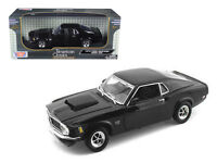 1970 Ford Mustang BOSS 429 1:18 Diecast Model Black - by Motormax - 7315BK*