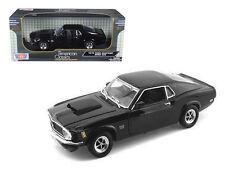 1970 Ford Mustang Boss 429 Black 1:18 Diecast Model - 73154bk *