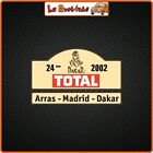 2 Adhesives IN Theme Dakar Madrid Auto Motorcycle Rally Helmet Cross Racing