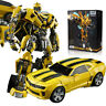 Weijiang Transformers Bumblebee Alloy Plate Robot 8053 Action Figure Toys 21cm