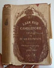 LARK RISE TO CANDLEFORD BY FLORA THOMPSON, 1945 FIRST EDITION