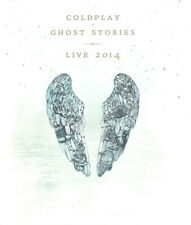 Coldplay – Ghost Stories · Live 2014 [New & Sealed] Blu-Ray + CD