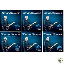 GHS GB-DGF David Gilmour Signature Series Blue Electric Guitar Strings 6 PACK