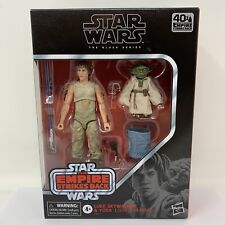 Star Wars - The Black Series - D4 - Luke Skywalker & Yoda ?Jedi Training? - NIB!