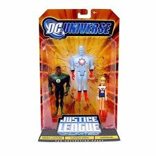 "DC Comics Liga De La Justicia 5"" figuras de dibujos animados 3 Pack Supergirl, Atom, Linterna"