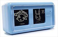 Yoshitomo Nara Table Flip Clock WALK ON Blue TWEMCO Japan Rare NEW