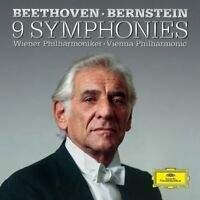 BEETHOVEN-THE SYMPHONIES - BERNSTEIN,LEONARD/+  6 CD NEW+ BEETHOVEN,LUDWIG VAN