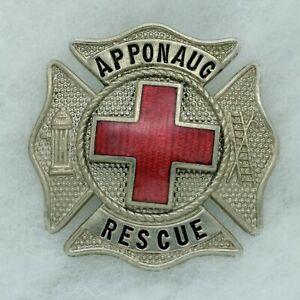 Apponaug Rescue, Warwick Fire Department, Rhode Island, EMT Firefighter Badge