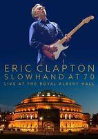 ERIC CLAPTON - SLOWHAND AT 70-LIVE AT THE ROYAL ALBERT HALL  DVD NEW+