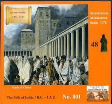 Linear B Models 1/72 THE FOLK OF JUDAA (JUDEA) 1 B.C. TO 1 A.D. Figure Set