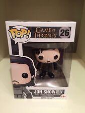 Jon Snow Castle Black Knights Watch FUNKO POP Game of Thrones House Stark