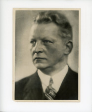 Hermann Abendroth, chef d'orchestre allemand Vintage silver print,Hermann