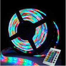 LED 5M 12V RGB Digital Flexible Strip Tape Light Colour Chasing + IR Remote