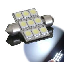 1 Ampoule C5W 36 mm 36mm 9 LED smd Blanc Habitacle plafonnier intérieur coffre