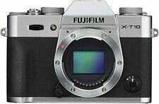 [NEAR MINT] Fujifilm X Series X-T10 16.3MP Digital  Silver  Body   N114