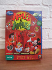 DISNEY APPLES TO APPLES * Famiy Party Card Game * 100% Complete & GOOD CONDITION