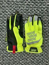 Mechanix Wear Hi-Viz Utility Gloves Yellow Reflective Mens Size Medium 9 NEW