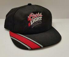 COORS LIGHT RACING SNAPBACK Baseball Cap vintage USA Made