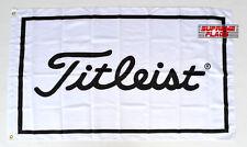 Titleist Flag Banner 3x5 ft Golf Equipment Apparel Wall Garage White