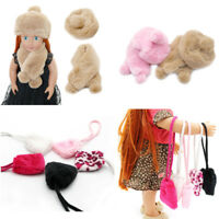 Fit For 18'' American Girl Hat Scarf Gift Candy Plush Purse Bag Doll Accessory