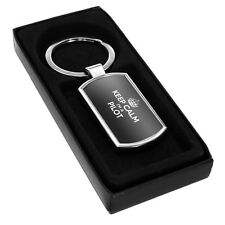 BLACK Keep Calm I'm a Pilot Metal Keyring 0282