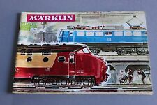 X226 MARKLIN Train Catalogue Ho 1965 1966 66 page 26,8x 7,5 cm F grue rotonde