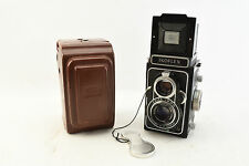 Zeiss Ikon Ikoflex IIA TLR Film Camera with Tessar 75mm f3.5 Lens and Case