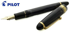 PILOT NAMIKI STYLO PLUME CUSTOM 823 NOIR OR 14K No15 GOLD NIB BLACK FOUNTAIN PEN